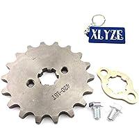 XLYZE 420 18 dientes de cadena de motor delantero de 17 mm engranaje de piñón para ATV chino 50cc 70cc 90cc 110cc 125cc Pit Dirt Bike SDG YCF GPX SSR Piranha