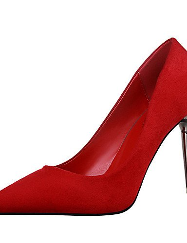 WSS 2016 Chaussures Femme-Extérieure / Bureau & Travail / Soirée & Evénement-Noir / Rose / Rouge / Gris / Bordeaux / Fuchsia-Talon Aiguille-Talons pink-us5.5 / eu36 / uk3.5 / cn35