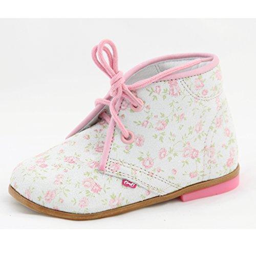 72c3dd77dbd044 Kinderschuhe Babyschuhe Lauflernschuhe für Mädchen Pastell rosa Modell Emel  2351-5N handmade (22)