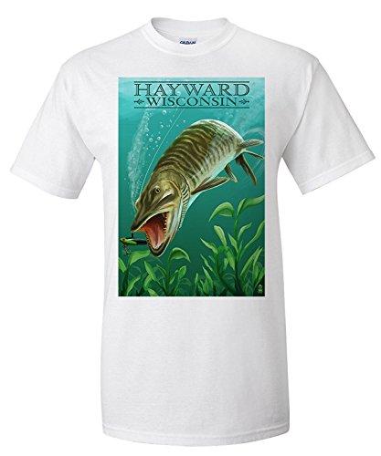 hayward-wisconsin-muskie-premium-t-shirt