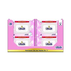 Cottonelle Toilettentücher Feucht Sensitive Maxi 12 er Pack ( 12 x 84 Maxipack)
