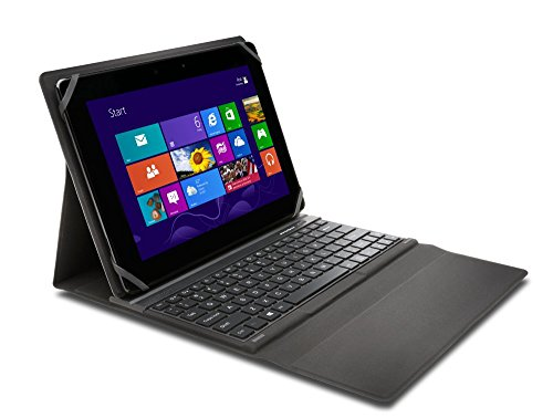 "Kensington KeyFolio Fit - Funda para tablet de 10"" (incluye teclado, Bluetooth), negro"