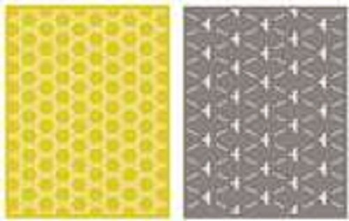 We R Memory Keepers We R Memory Keepers A2 Honeycomb Embossing Folder Set by QUICKUTZ -