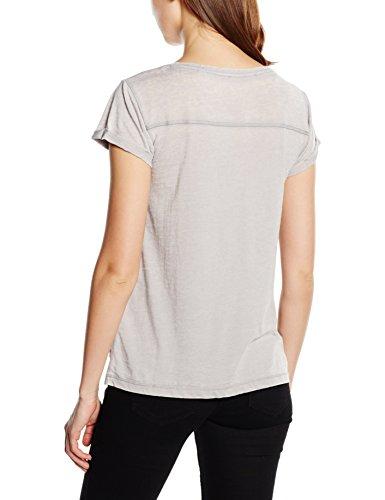 s.Oliver Damen T-Shirt Grau (soft grey placed print 91D0)