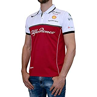 Alfa Romeo Racing Sauber Motorsport Herren Team Poloshirt-S
