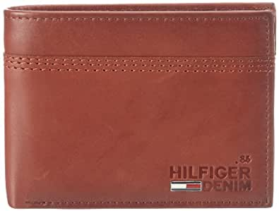 Hilfiger Denim KRIS CC FLAP & COIN POCKET EK56920949, Herren Geldbörsen, Braun (SABLE- TH 698), 14x10x2 cm (B x H x T)