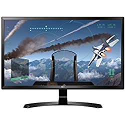 "LG 24UD58-B.AEU Monitor 24"" 4K Ultra HD LED IPS, UHD 3840 x 2160, AMD FreeSync, Multitasking, Display Port, 2 HDMI, Nero"