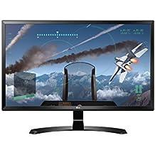 LG 27UD58-B - Monitor Serie 4K de 69 cm (27 pulgadas, 4K Ultra HD, IPS, 3840x2160 pixeles, 5 ms, 16:9, 250 cd/m2) Color Negro