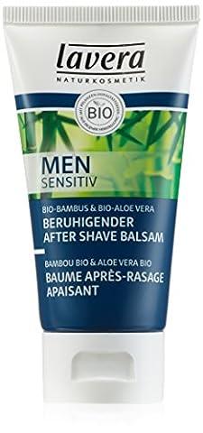 Lavera, Men Sensitiv, Baume Après-Rasage Apaisant, 50 ml