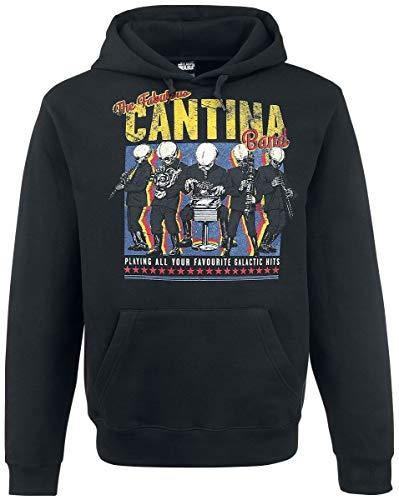 Star Wars Cantina Band On Tour Kapuzenpullover schwarz XXL