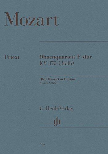 Oboe Quartet f major  K. 370oboe, violin, viola and cello