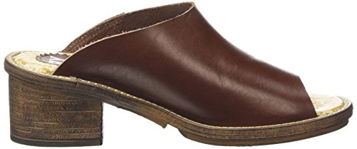 FLY London COAD497FLY, Sandales ouvertes femme Marron - Braun (BROWN 001)