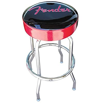 Fender Barstool, 24-Inch, Black/Red produced by Fender - quick delivery from UK.