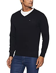 Monte Carlo Mens Wool Sweater (8907678044751_1170515VN-148-42_Black)