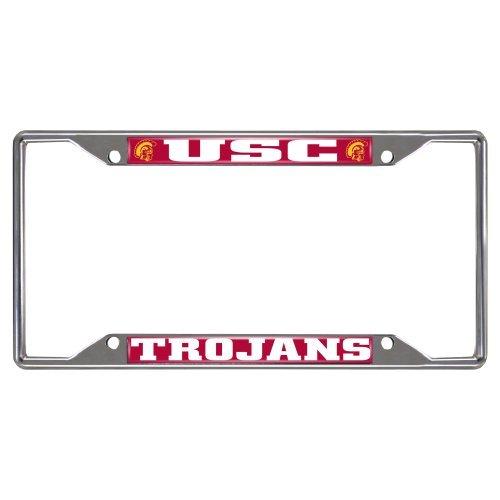 fanmats-ncaa-univ-of-southern-california-trojans-chrome-license-plate-frame-by-fanmats