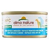 almo nature - Alimento para Perros, Lata pequeña de atún Skipjack, 95 g
