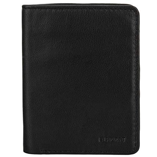 ESPRIT kleine Leder Geldbörse Portemonnaie Geldbeutel Mini fold Wallet 028EAV006-E001