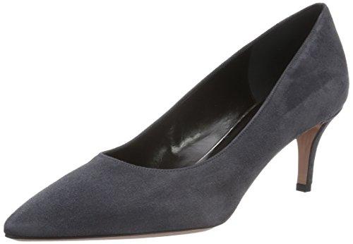 Oxitaly Sara 100 - Zapatos De Mujer Con Tacón Gris (pantano)
