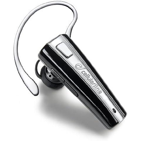 Cellular Line Btc7 Auricolare Bluetooth con Caricabatteria da Auto,