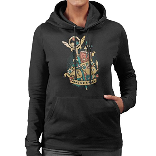 Ni No Kuni Another World Studio Ghibli Women's Hooded Sweatshirt (Studio Womens Pullover)