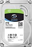 Seagate Überwachung Skyhawk 72004TB Festplatte 7200U/min SATA Serial ATA 6Gb/s, 64MB Cache 8,9cm/3,524x 7Dauer Betriebssystem BLK