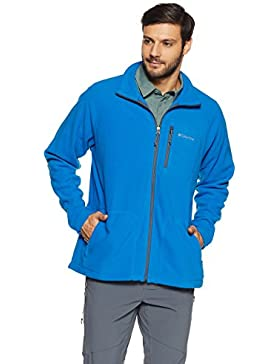 Columbia Chaqueta, Fast Trek II, Hombres, Super Blue, Graphite, XXL, AM3039