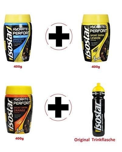 Isostar Hydrate & Perform 3 Botes de 400 g Sabor...