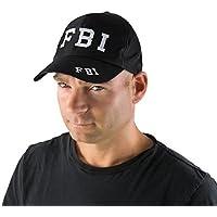 P 'tit payaso–81270–Gorra FBI adulto–Talla única