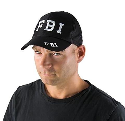 P'TIT CLOWN - 81270 - Casquette FBI Adulte - Taille Unique