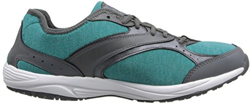 Ryka Dash Stretch Toile Chaussure de Marche Teal-Gr