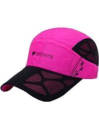 LINNUO Cappellino da Baseball Ricamo Uomo Donna Trucker Cap Sport Hat  Berretto da Sole Traspirante Outdoor 03847bbd76fa