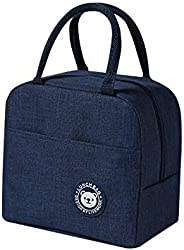 Lunch Bag,Lunch Box with Insulated Material for Women, Man, Office, School, Collage, Beach, Picnic, Fishing, H