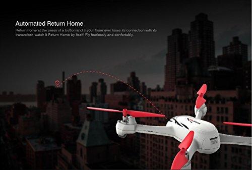 Hubsan H502E X4 Desire Pro Quadrocopter 5.8 Ghz Drohne mit 720P HD Kamera RTH-Funktion und Altitude-Hold Modus - 5
