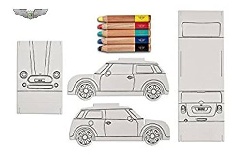 Mini Lifestyle Collection New Mini Original faltbar 3D Papier Auto Malset 80452445712