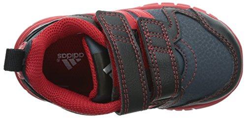 Adidas - Adidas Sta Fluid 3 CF I Scarpe Bambino Grigie Pelle Strappi M20253 Gris