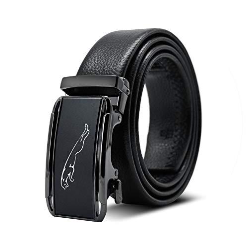 tteuion luxury belts 2019 Herrengürtel aus echtem Leder, hochwertig, für Herren - - 125 cm