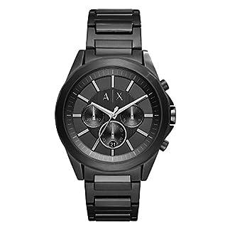 Armani Exchange Drexler Analog Black Dial Men's Watch – AX2601