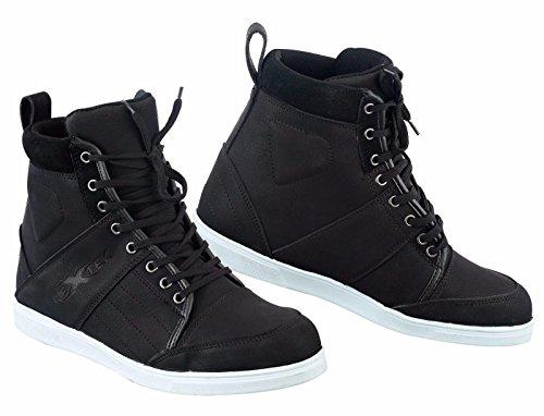 BT-107Pure Piel Nueva Fashion Resistente al Agua para Hombre Boys Botas Zapatos Zapatillas Casual...