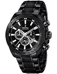 Festina Herren-Armbanduhr Chronograph Quarz Edelstahl beschichtet F16889/1