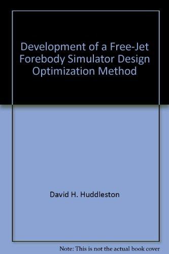 development-of-a-free-jet-forebody-simulator-design-optimization-method