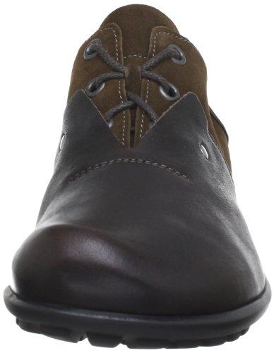 Think Kong, Scarpe stringate modello Derby uomo marrone (Braun (espresso/kombi 42))