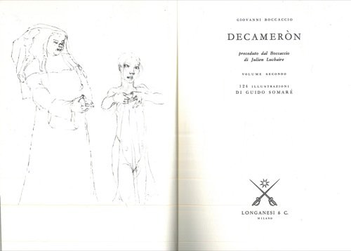 Decamero'n. Preceduto dal Boccaccio di Julien Luchaire e da una prefazione di Giuseppe Prezzolini.