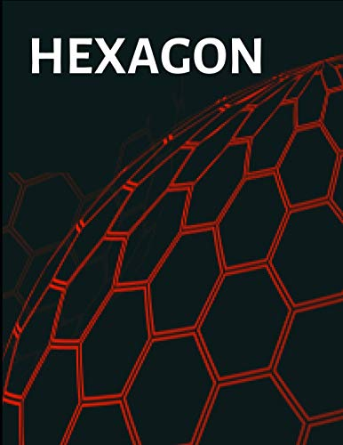 Hexagon: Hexagonal Graph Paper Notebook, Large Print 8.5 x 11 inches for chemistry and note taking (Hexagon Notebook)