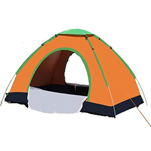 ZolrTped Vollautomatische 3-4 Personen Zelt,anwendbar Für Camping & Strand Und Wandern,einfache Einrichtung - Zusammenklappbar Mit Tragetasche - Leichte & Robust-c 200x200x135cm