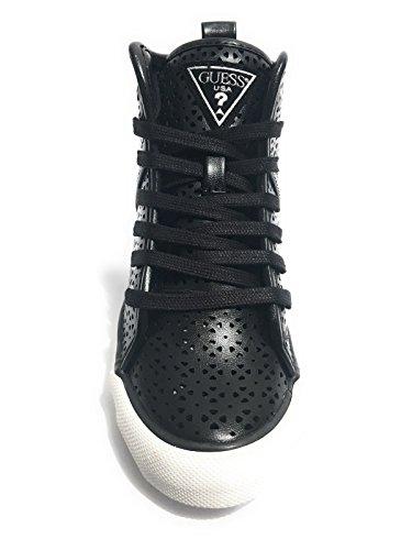 Guess Jillie, Chaussures de Tennis femme Noir