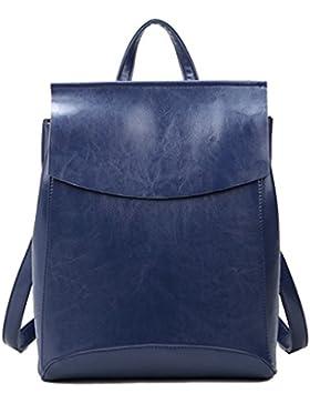 Yan Show Damen Neu Leder Schulter Taschen Rucksack Handtaschen