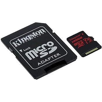 Kingston SDC10G2/128GB - Tarjeta de Memoria microSDXC de 128 ...