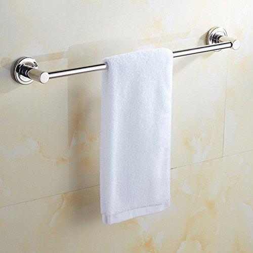 304 Edelstahl Wand Handtuchhalter Einhebelsteuerung Badezimmer Handtuchhalter Handtuchhalter Mount Rod, 70cm Verlängerung von Punch ()