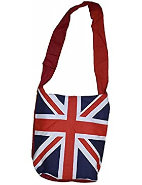 Einkaufstasche, Motiv: Britische Flagge, Baumwolle