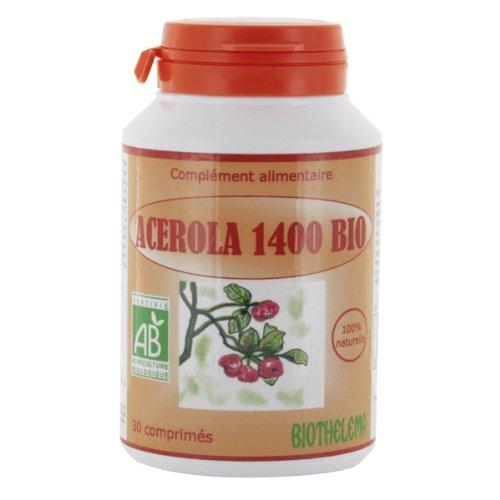 Acérola 1400 bio - 30 cp